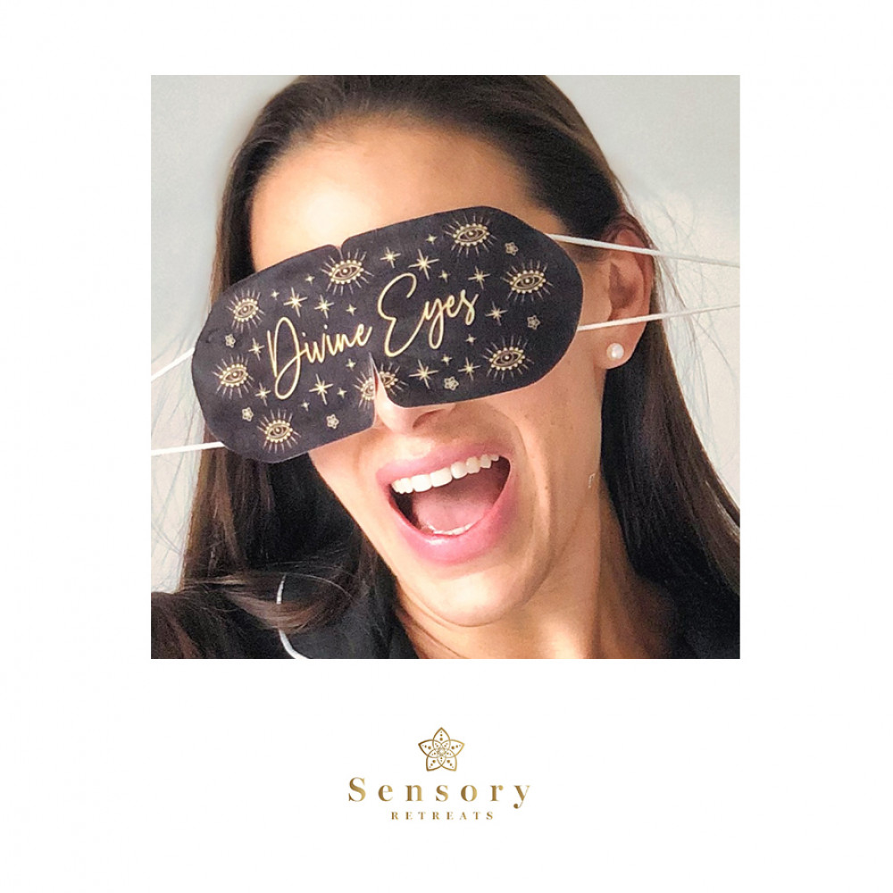 DIVINE EYES SELF-HEATING EYE MASK by Sensory Retreats